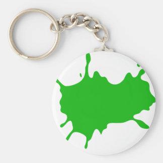 Porte-clés Floc vert de boue