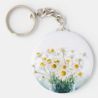 Porte-clés Floral, art, conception, beau, nouvelle, mode,