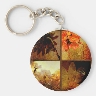 Porte-clés Floral rustique artistique