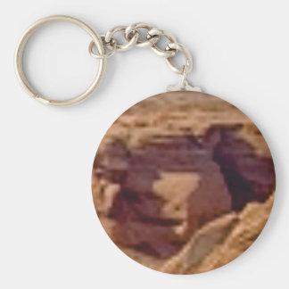 Porte-clés formation de roche rouge