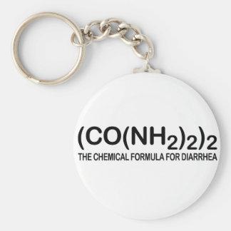 Porte-clés Formule chimique drôle pour le porte - clé de