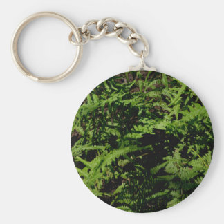 Porte-clés Fougères vertes