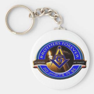 Porte-clés Frères maçonniques