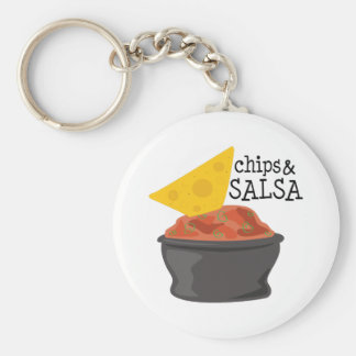 Porte-clés Frites et Salsa