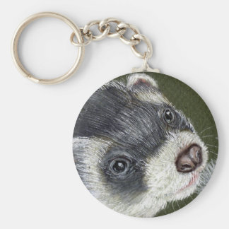 Porte-clés Furet élégant