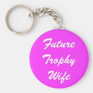 Porte-clés Future épouse de trophée