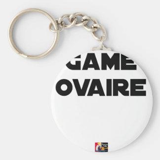 Porte-clés Game Ovaire - Jeux de Mots - Francois Ville