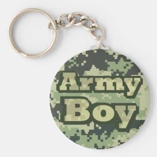 Porte-clés Garçon d'armée