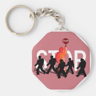 Porte-clés Garde de croisement d'école