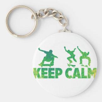 Porte-clés Gardez le calme