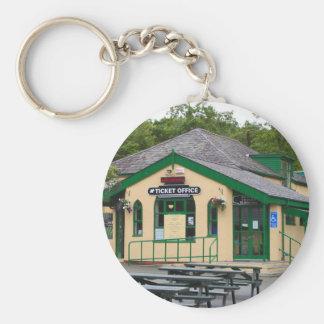 Porte-clés Gare ferroviaire de montagne de Snowdon,