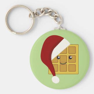 Porte-clés Gaufre de Noël
