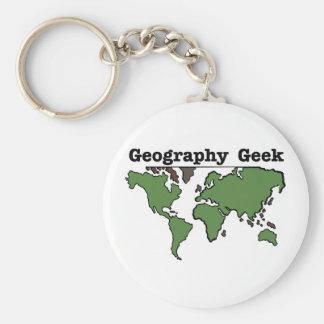 Porte-clés Geek de géographie