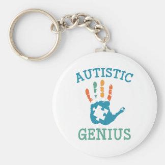Porte-clés Génie autiste