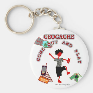 Porte-clés Geocache sortent et jouent