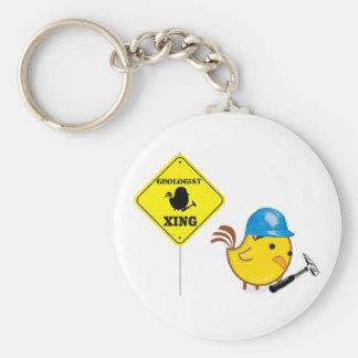 Porte-clés Géologue Xing