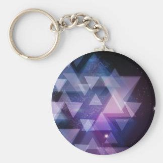 Porte-clés géométrique