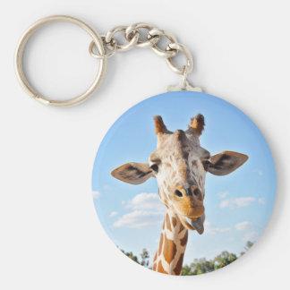 Porte-clés Girafe idiote