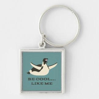 Porte-clés Glissement du porte - clé de pingouin