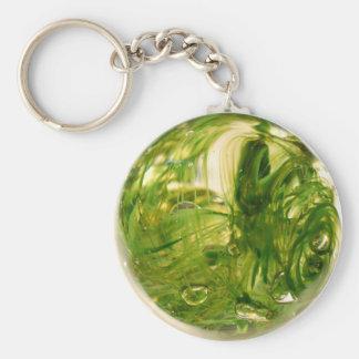 Porte-clés Globe d'algue