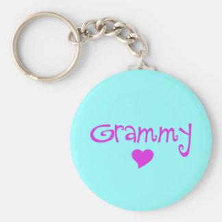 Porte-clés Grammy avec le coeur