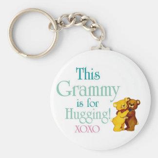 Porte-clés Grammy-Étreindre-Étreintes