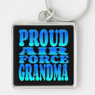 Porte-clés Grand-maman fière de l'Armée de l'Air