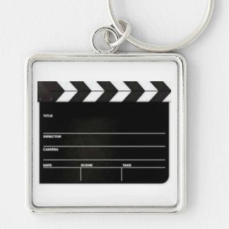 Porte-clés Grand porte - clé d'ardoise de film de bardeau