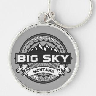Porte-clés Grand porte - clé de logo de ciel