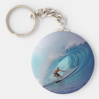 Porte-clés Grandes îles bleues surfantes de Mentawai de vague