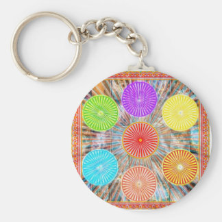 Porte-clés Graphiques de thérapie de couleur : Énergie
