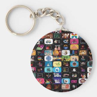 Porte-clés Graphiques historiques et logos de CBC