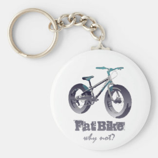 Porte-clés Gros vélo pourquoi citation non de motivation avec