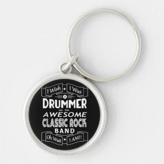 Porte-clés Groupe de rock classique impressionnant de BATTEUR