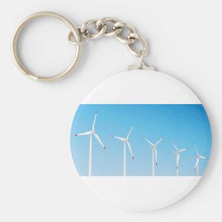 Porte-clés Groupe de turbines de vent