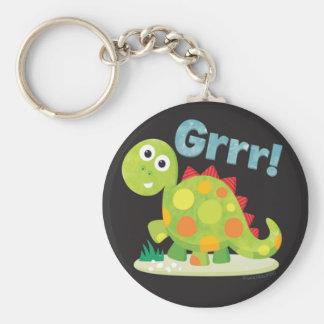 Porte-clés Grrr ! Porte - clé de dinosaure