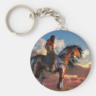 Porte-clés Guerrier et cheval de guerre