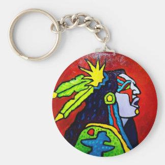 Porte-clés Guerrier mystique # 1 par Piliero