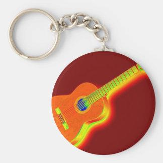 Porte-clés Guitare classique d'art de bruit