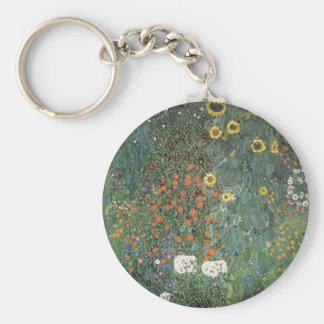 Porte-clés Gustav Klimt - fleurs de tournesols de jardin de