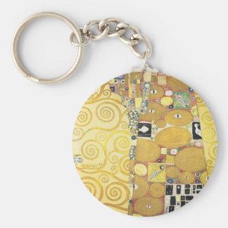 Porte-clés Gustav Klimt - l'étreinte - illustration classique