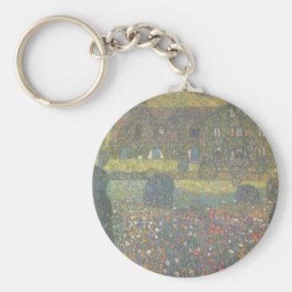 Porte-clés Gustav Klimt - maison de campagne par l'art