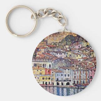 Porte-clés Gustav Klimt - Malcesine au policier Italie de lac