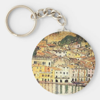Porte-clés Gustav Klimt - Malcesine sur le policier de lac