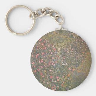 Porte-clés Gustav Klimt - paysage horticole italien