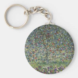 Porte-clés Gustav Klimt - peinture de pommier