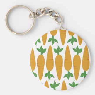 Porte-clés Gwennie le petit pain : Champ des carottes