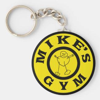 Porte-clés Gymnase de microphones