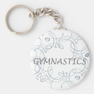 Porte-clés Gymnastique avec le remous