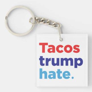 Porte-clés Haine d'atout de tacos : Porte - clé d'Anti-Atout